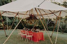 Backyard Yurt Wedding Inspiration