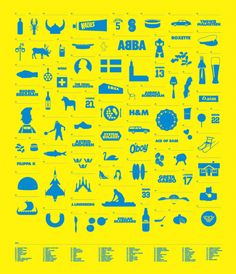 Creative Sweden, Subdisc, Yellow, Icons, and Abba image ideas & inspiration on Designspiration Learn Swedish, Swedish Girls, Stockholm, Voyage Suede, Ace Of Base, Swedish Language, About Sweden, The Swede, Swedish Design