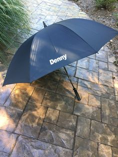 Personalized Golf Umbrella Name or Monogrammed by AngelasGiftShop