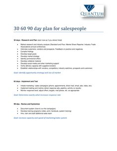 30 60 90 Plan Templates Best Of 12 30 60 90 Day Sales Plan Examples Pdf Word