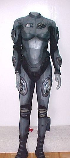 ORIGINAL HEATHER GRAHAM CRYO SPACESUIT