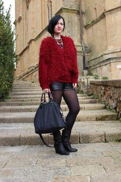 Black Star Style: Un gilet di lana fatto ai ferri, caldo come un abbraccio