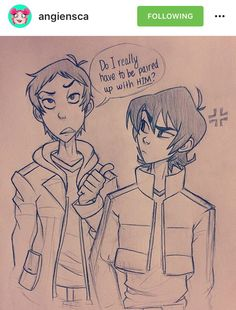 Angiencsa's Voltron. But the real question-is Lance directing this question towards Coran, or the fandom?