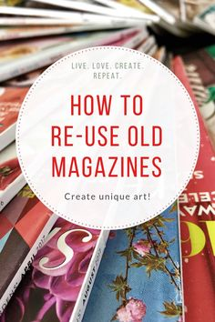 Turn your old magazines into a unique piece of woven art Recycled Magazine Crafts, Recycled Paper Crafts, Old Book Crafts, Book Page Crafts, Recycled Magazines, Old Magazines, Upcycled Crafts, Recycled Art, Easy Diy Crafts