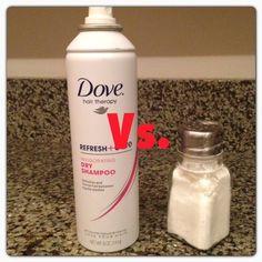 DIY Dry Shampoo