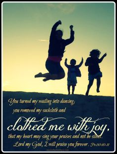 Clothed with JOY