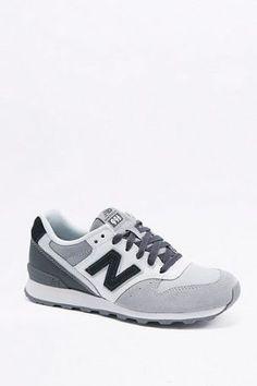 """New Balance – Sneaker """"996"""" in Schwarz und Grau – Damen 40.5"""