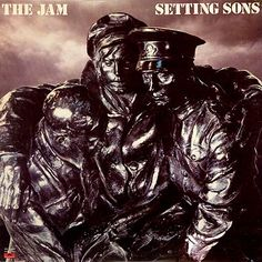 """The Jam - Setting Sons. Time Out: """"a bronze statue that belongs to the Imperial War Museum. It's titled 'St John's Ambulance Bearers', and was created in 1919 by the artist Benjamin Clemens. Sadly for Jam fans, the piece is currently in storage. Greatest Album Covers, Classic Album Covers, Lp Cover, Cover Art, Lp Vinyl, Vinyl Records, Rockabilly, Jam Songs, The Style Council"""