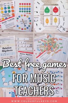 Top 9 Absolutely Essential Free Piano Teaching Games – Colourful Keys