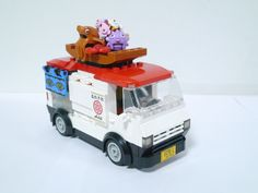 Lego Food, Combi Vw, Food Truck, Sushi, Trucks, Cars, Food Carts, Autos, Truck