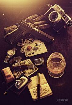 What does it look like when you empty your pockets?