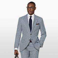Daily pick: The Lazio blue houndstooth.