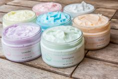 Handcrafted All Natural Whipped Body Butter by by SquishyBath
