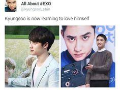 Kyungsoo hahahaha