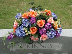 Artificial Flower Arrangements for Graves | Saturday, May 1, 2010
