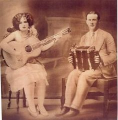Old Cajun music was often times sung in their native Cajun French language. One of the best resources for old cajun music I have found so far...