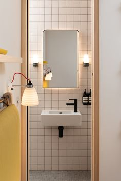 Industrial setting informs robust palette of Fraher Architects' Signal House - Dr Wong - Emporium of Tings. Bad Inspiration, Bathroom Inspiration, Interior Inspiration, Bathroom Interior Design, Home Interior, Interior And Exterior, Luxury Interior, Bathroom Toilet Decor, Small Bathroom