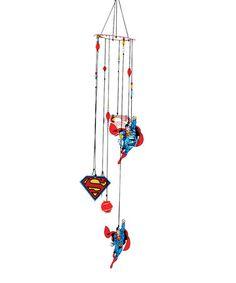 Superman Wind Chime #zulily #zulilyfinds