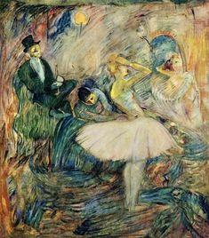 The Dancer in Her Dressing Room,  Henri de Toulouse-Lautrec