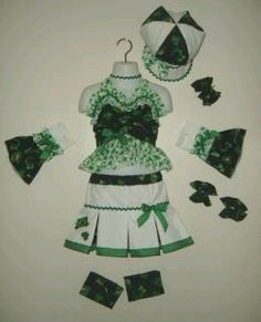 Custom Made 4 U National Pageant St Patricks Day Casual Wear Sizes 4T Girls 8 | eBay
