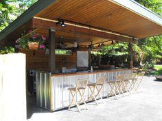 Outdoor Kitchen Cedar Timber Frames wwwtexastimberframescom