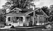 Sears kit homes - you ordered the house from Sears catalog....they are still around today - beautiful and FULL of CHARACTER.....