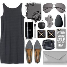 Sin título #400 by shadyav18 on Polyvore featuring polyvore, fashion, style, Toast, Jigsaw, L.K.Bennett, Kenneth Jay Lane, ABS by Allen Schwartz, Casetify and Yves Saint Laurent