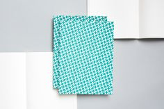 ola Victor turquoise A5 Layflat Notebook