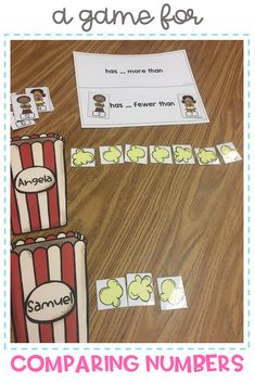 Students in first grade and kindergarten grow their understanding of place value through with these 4 hands-on games and build numbers to find greater than and less than. Perfect center ideas and activities for number and operations in based 10.