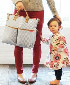 I need this diaper bag-sold out everywhere. Hop Duo diaper bag in french stripe Baby Momma, Baby Love, Momma Bear, Best Diaper Bag, Diaper Bags, Striped Bags, Layla Grayce, Baby Boutique, New Moms