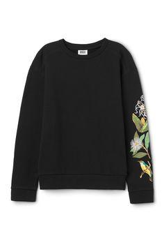 Weekday /Jania Sweatshirt in Black