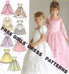 Girls Dress Patterns | We Know How To Do It