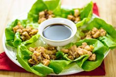 PF Changs-inspired Gluten-free, Paleo and AIP Asian Lettuce Wrap Recipe! - and yes, water chestnuts are AIP :) Autoimmun Paleo, Paleo Recipes, Real Food Recipes, Paleo Meals, Paleo Food, Chicken Recipes, Paleo Grubs, Clean Recipes, Lunch Recipes