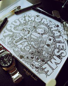 Afternoon Doodle by lei-melendres.deviantart.com on @deviantART