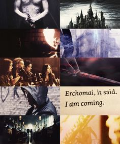 ERCHOMAI, SEBASTIAN HAD SAID. I am coming. Darkness returns to the Shadowhunter world. As their society falls apart around them, Clary, Jac...