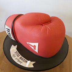 https://flic.kr/p/wAnXzw | Title Boxing Glove Cake | Amazing: Sculpted Boxing Glove, Custom Cake.