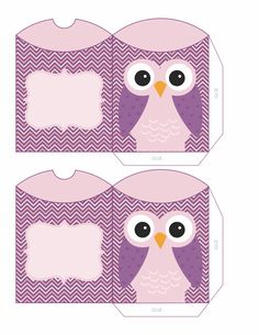 purple owl boxes
