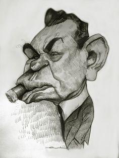 Edward G. Robinson by Ernesto Priego