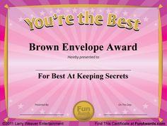 Worlds Best Custom Award Certificate Template by MissPowerPoint ...