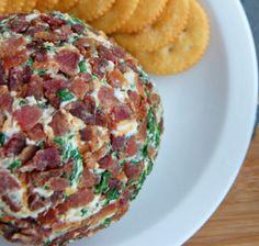 I Quit Sugar - Bacon Spinach Cheese Ball