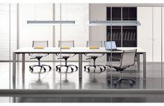 Table de Réunion / Conférence Modulable GLIDER Design Bralco - 10 places - Meuble Sodezign