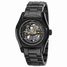 430a2a3172004 Buy Emporio Armani AR1414 Mens Ceramic Black Skeleton Dial Watch UK on sale  147GBP armaniemporiowatches.