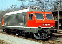 Switzerland - SBB loc 10101