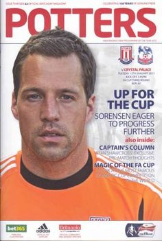 Stoke City - F.A. Cup 3rd Round Replay