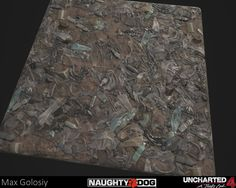 ArtStation - Uncharted 4 Muddy Trash Material, Max Golosiy