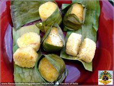 Puto Lanson is also called aripahol nga balinghoy (kamoteng kahoy or cassava). It is made with this grated root crop, coconut plus sugar...