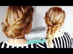 MEDIUM SHORT HAIR HAIRSTYLE BRAIDED UPDO BRAID | Awesome Hairstyles