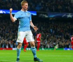 KDB scores the late winner against Seville. City win 2-1!