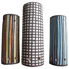 Roger Capron Ceramic Chandelier, Vallauris