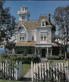 Wonderful Victorian house with widow's walk. | Victorian Homes | Pinterest by PhroggySmyles